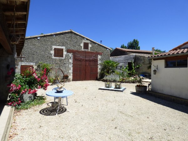House for Sale in La Chapelle-Baton, Poitou-Charentes, France