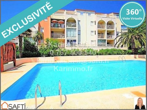 2 Bedroom Apartment for Sale in Cap d'Agde