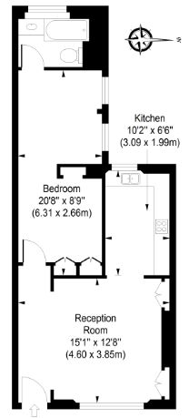 1 Bedroom Apartment for Sale in London