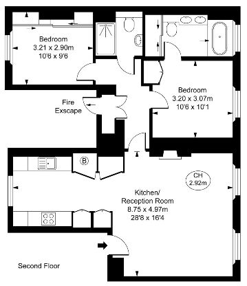 2 Bedroom Apartment for Sale in Mayfair