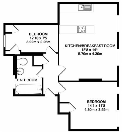 2 Bedroom Apartment for Sale in Westminster