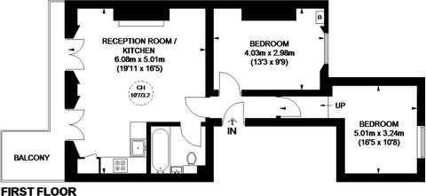 2 Bedroom Apartment for Sale in Notting Hill
