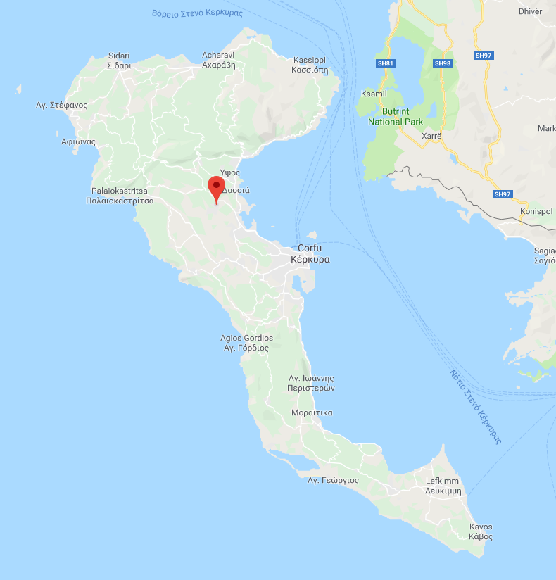 Land for Sale in Corfu, Greece