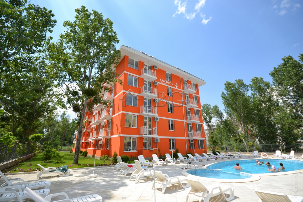 FurnIshed 1-bedroom apartment, 400 m to the sea, Gerber 4, Sunny Beach