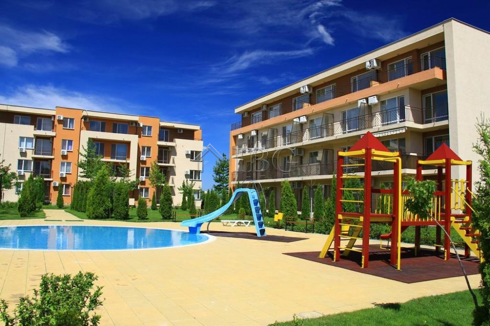 FurnIshed 2-bedroom apartment In HolIday Fort Club, Sunny Beach