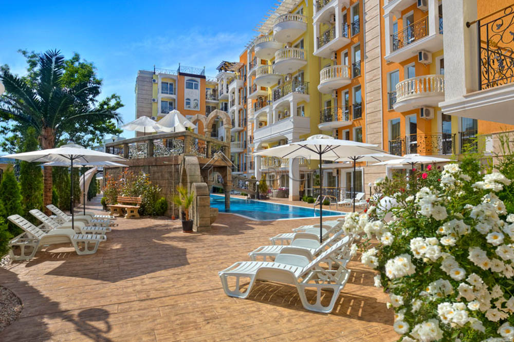 BIg 45 sq. m. Luxury FurnIshed StudIo for sale In Sweet Homes 2, Sunny Beach
