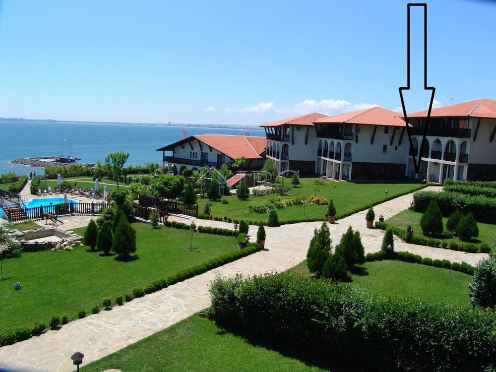 1st lIne to the sea! 1 bedroom apartment wIth pool and sea vIew In ManastIra 1, SvetI Vlas